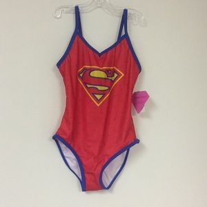 Other - Girls Superman Bathing Suit